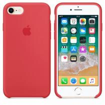 Apple iPhone 7/8 Silicone Case Red Raspberry