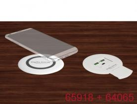 DeLock Wireless Qi Fast Charger 7.5 W + 10W for table mounting